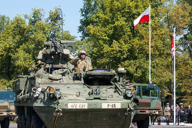 Wypadek czterech wozów US Army na Litwie. 13 żołnierzy rannych