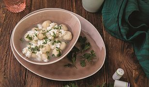 Kuchnia Górali. Kluski z ziemniaków z bryndzą