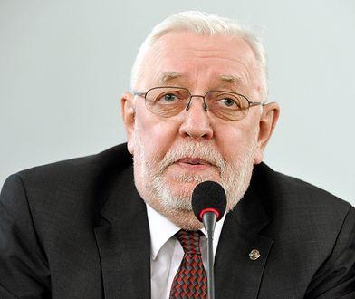 Jerzy Stępień nie zostanie ukarany za udział w manifestacji PO?