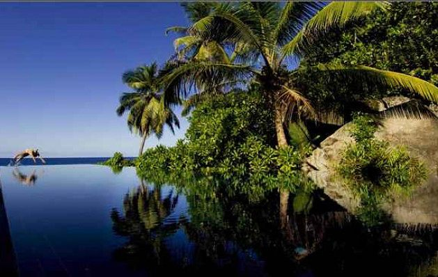 Banyan Tree Hotel, Intendance Bay, Seszele
