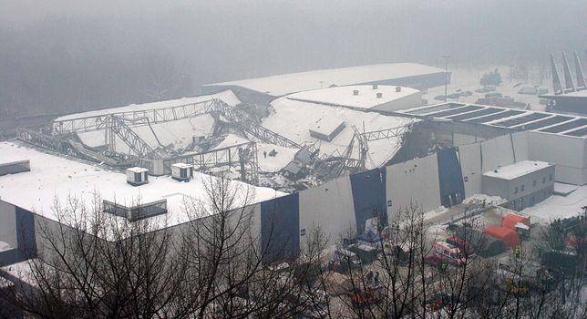 Hala MTK zawaliła się 28 stycznia 2006 r.