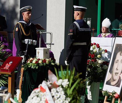Na gdańskim Cmentarzu Srebrzysko pożegnanie Anny Kurskiej