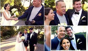 Młoda para spotkała bardzo wyjątkowego gościa na swojej sesji ślubnej. Takich zdjęć pozazdrości im każdy