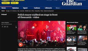 Świat wstrząśnięty atakiem na Adamowicza. Artykuły w zagranicznych mediach