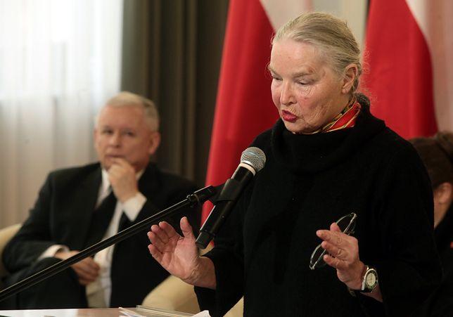 Jadwiga Staniszkis ws. Sądu Najwyższego: Znam Kaczyńskiego. Jest wewnętrznie zdruzgotany