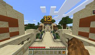 Minecraft - nowa mapa z okazji 10-lecia gry