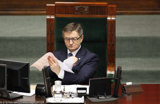 Marszałek Sejmu, Marek Kuchciński
