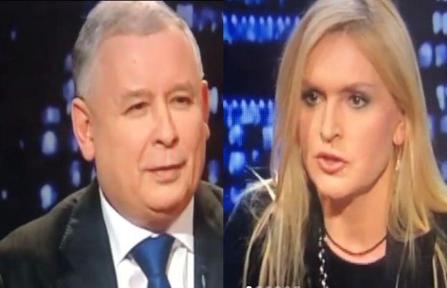 Monika Olejnik przypomniała, co Jarosław Kaczyński mówił o oczach Donalda Tuska