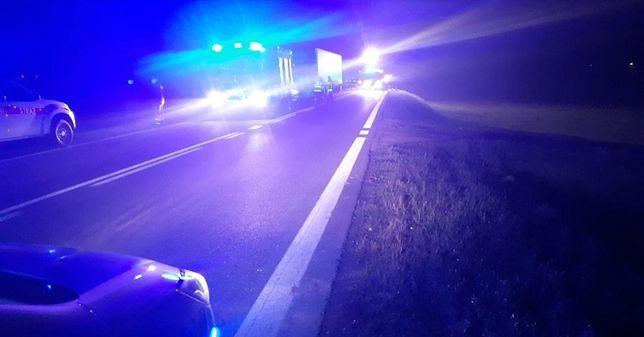 Do śmiertelnego wypadku doszło na drodze krajowej nr 61