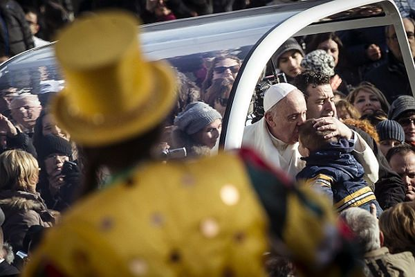 Papież Franciszek, 8 stycznia 2014r. Watykan