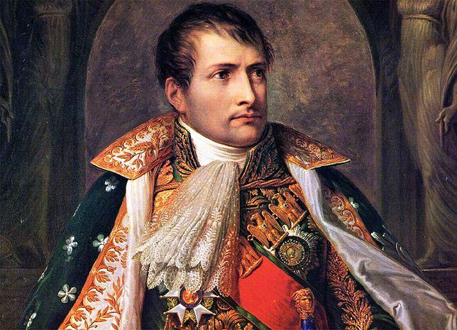 Fragment obrazu przedstawiającego Napoleona jako konsula. Autor: Andrea Appiani