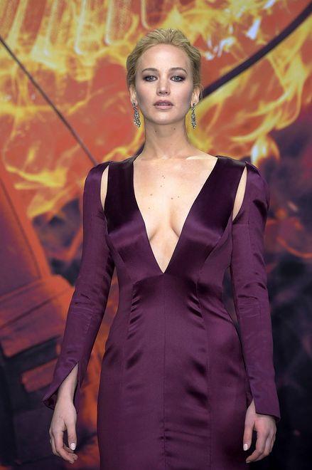 """Jennifer Lawrence na berlińskiej premierze """"Igrzysk śmierci"""""""