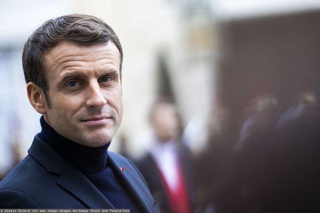 Emmanuel Macron (Alexis Sciard via www.imago-images.de/Imago Stock and People/Eas)