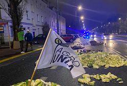 """Protest rolników. Zawiadomienie ws. akcji Agrounii. """"Widok martwej świni zszokował wielu"""""""