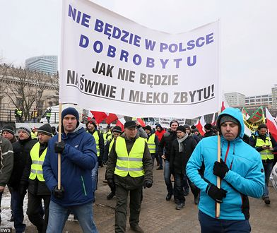 Protest rolników w Warszawie. Plac Zawiszy znów będzie zablokowany