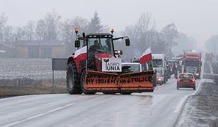 Protest rolników. Blokada dróg w kilku województwach