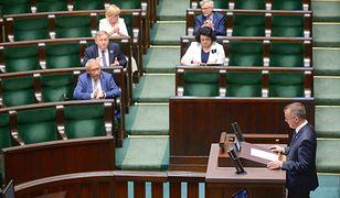 Westerplatte. Kłótnia podczas czytania projektu specustawy
