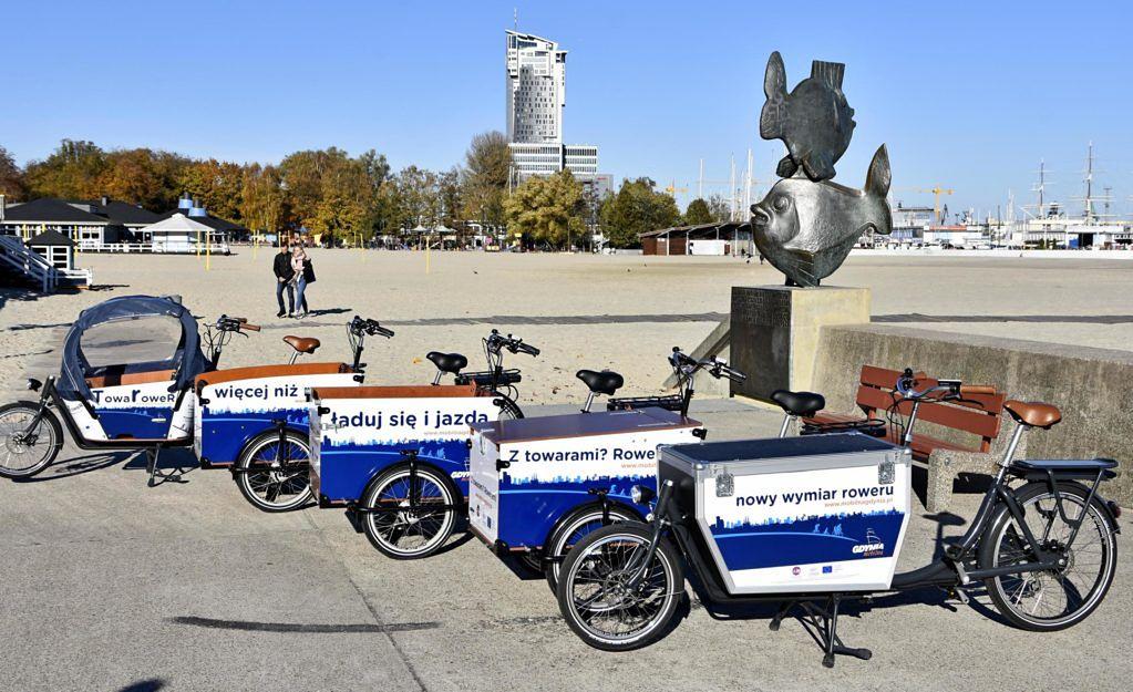 Mobilna Gdynia. Wypożycz bezpłatnie rower elektryczny