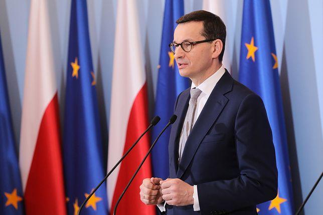Premier Mateusz Morawiecki chce, by TK zajął się nową uchwałą SN