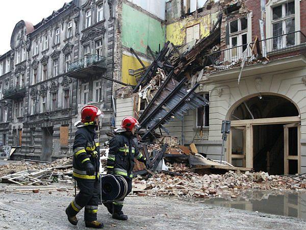 Wybuch gazu w centrum Katowic
