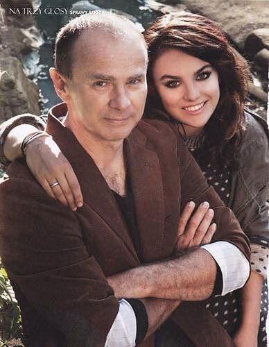 Ewa Farna z tatą
