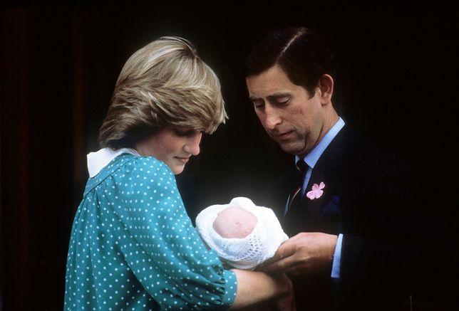 Księżna Diana z mężem i synem