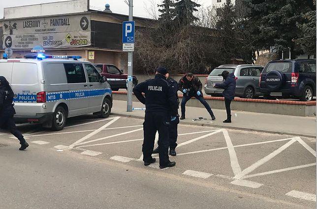 Białystok. Do ataku nożownika doszło na ulicy Bema.