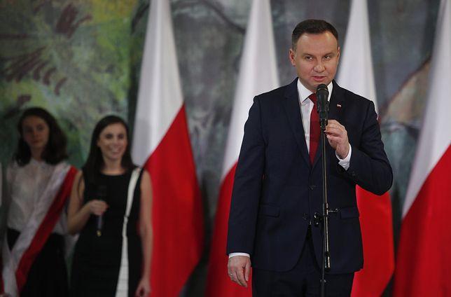 Prezydent Andrzej Duda ostro o wydarzeniach podczas Marszu Niepodległości