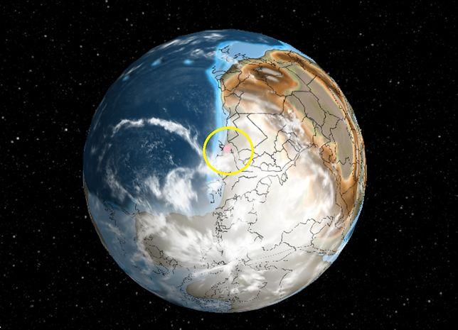 W tym miejscu znajdowała się Polska 600 mln lat temu