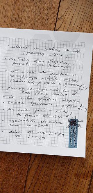 Notatki z wywiadówki