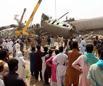 Pakistan. Katastrofa kolejowa. Wiele ofiar