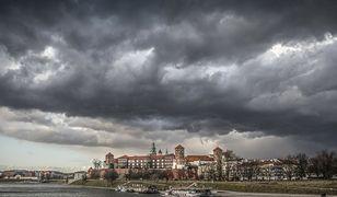 Pogoda. Kraków. Nad miasto dotarła burza