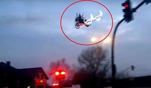 Niesamowite widowisko nad Krakowem. Na niebie pojawił się Święty Mikołaj
