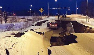 Trzęsienie ziemi na Alasce miało magnitudę 7.0