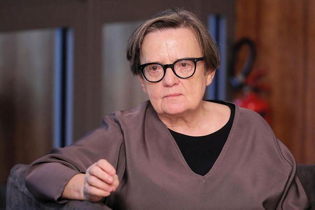 Agnieszka Holland namawia do finansowego wsparcia strajkujących nauczycieli