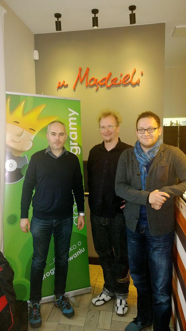 Marcin Klimowski, ja, Marek Zaleski
