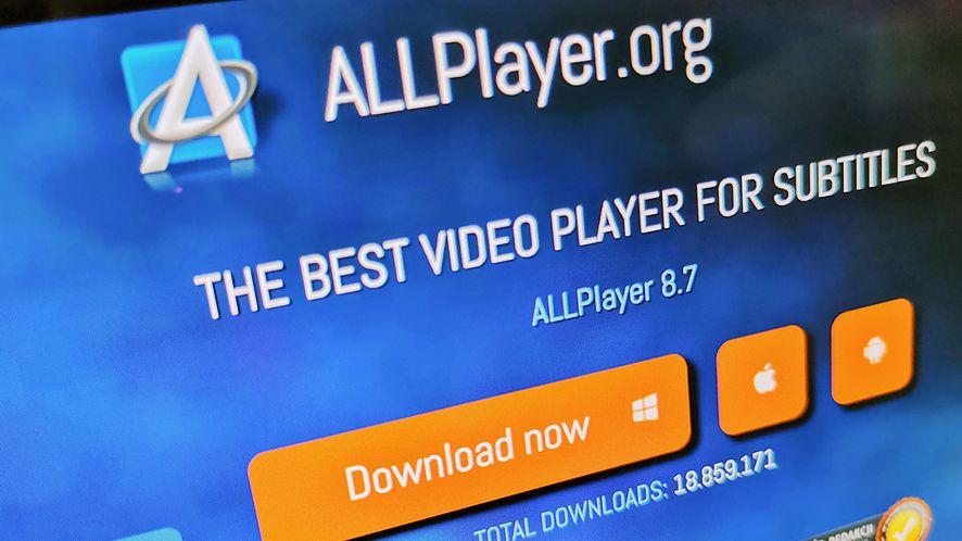 ALLPlayer 8.7 wprowadza podgląd filmu podczas przewijania
