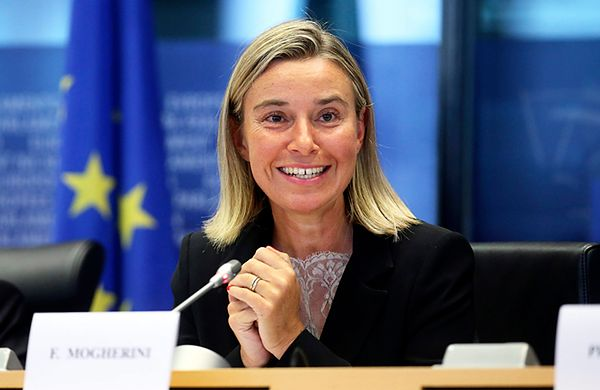 Wpadka szefowej unijnej dyplomacji Federiki Mogherini: zestrzelenie boeinga to nieszczęśliwy wypadek