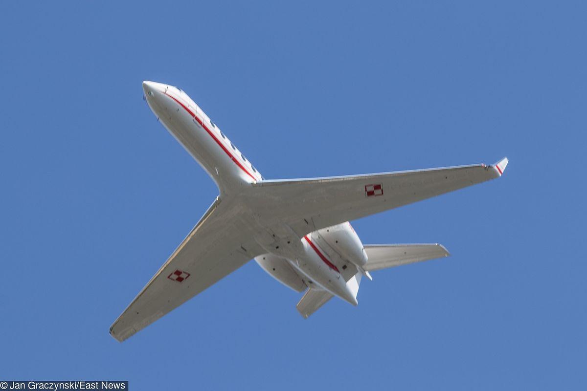 Awaryjne lądowanie rządowego samolotu na Okęciu
