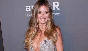 Heidi Klum pokazał roznegliżowane zdjęcie