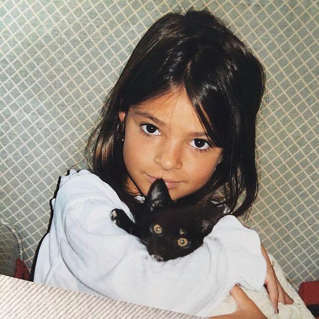Gwiazda pokazała zdjęcie z dzieciństwa