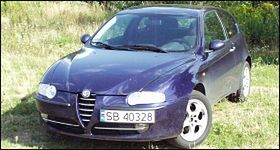 Alfa Romeo 147 2.0 TS - test