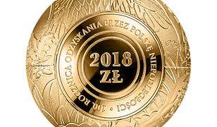 Jeszcze nigdy w historii moneta kolekcjonerska NBP nie miała takiego kształtu.