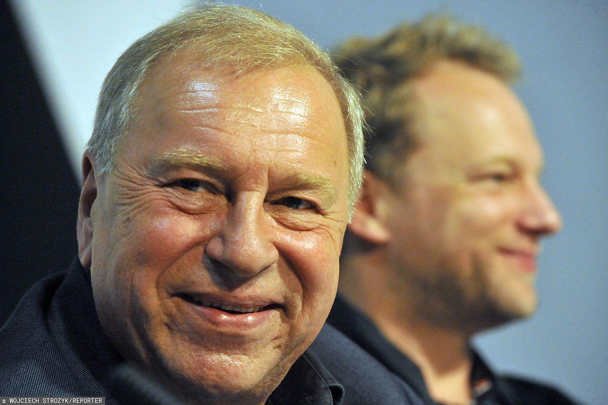 Jerzy Stuhr i Maciej Stuhr