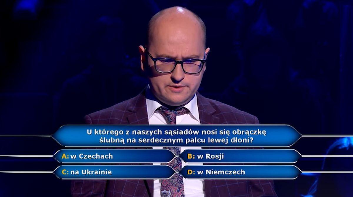 Radosław z Poznania nie znał odpowiedzi na pytanie za 125 tys. zł