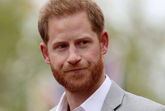 Książę Harry odczuwa ciężar ojcostwa