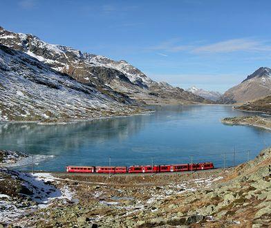 Koleje Retyckie w Szwajcarii. To się nazywa pociąg do podróży!