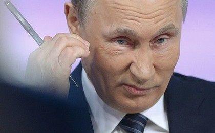 Putin nie dba o rubla. Kreml skupuje złoto i twarde waluty
