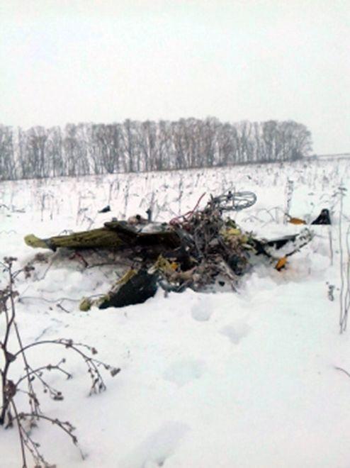 Katastrofa samolotu pod Moskwą. Jest nagranie
