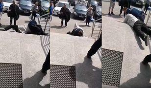 Nożownik dźgnął policjanta, który go obezwładniał